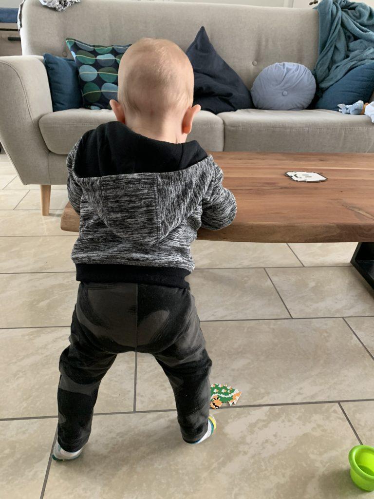 Baby rechtop