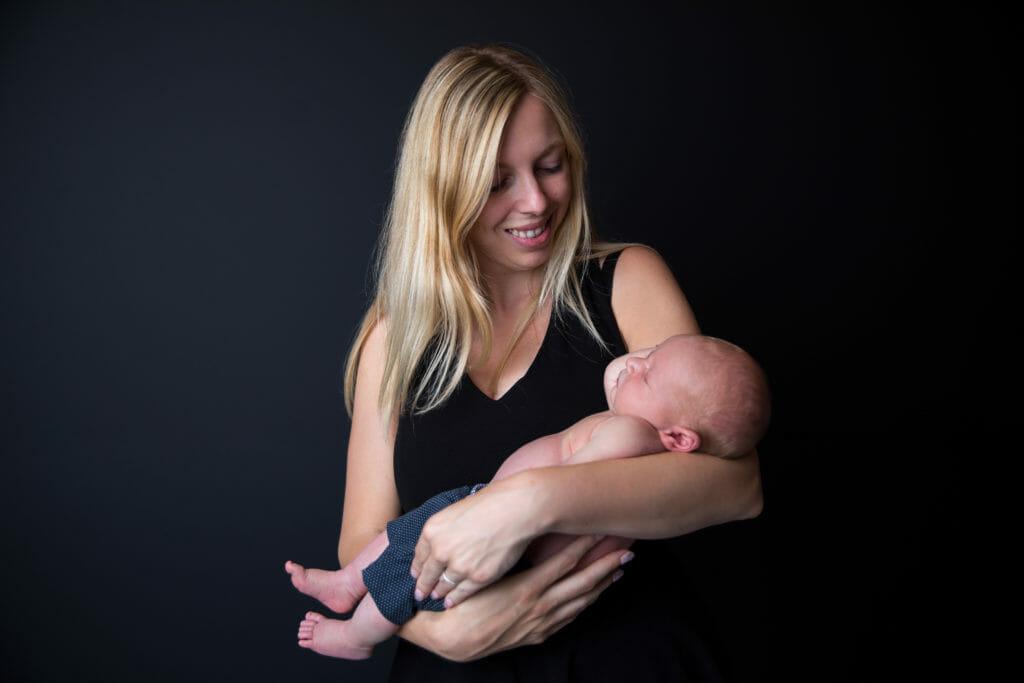 Een foto met baby Remus